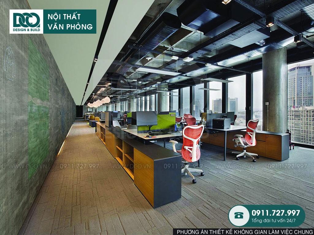 Chi phí cải tạo nội thất Coworking Space