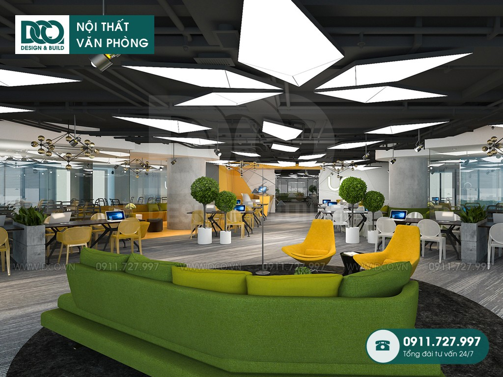 Dự toán cải tạo nội thất Coworking Space