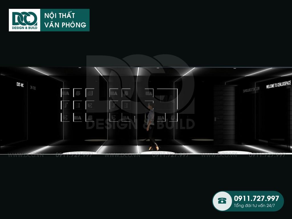 Mẫu thiết kế sảnh và WC 150m2 tại Dolphin Plaza Mỹ Đình