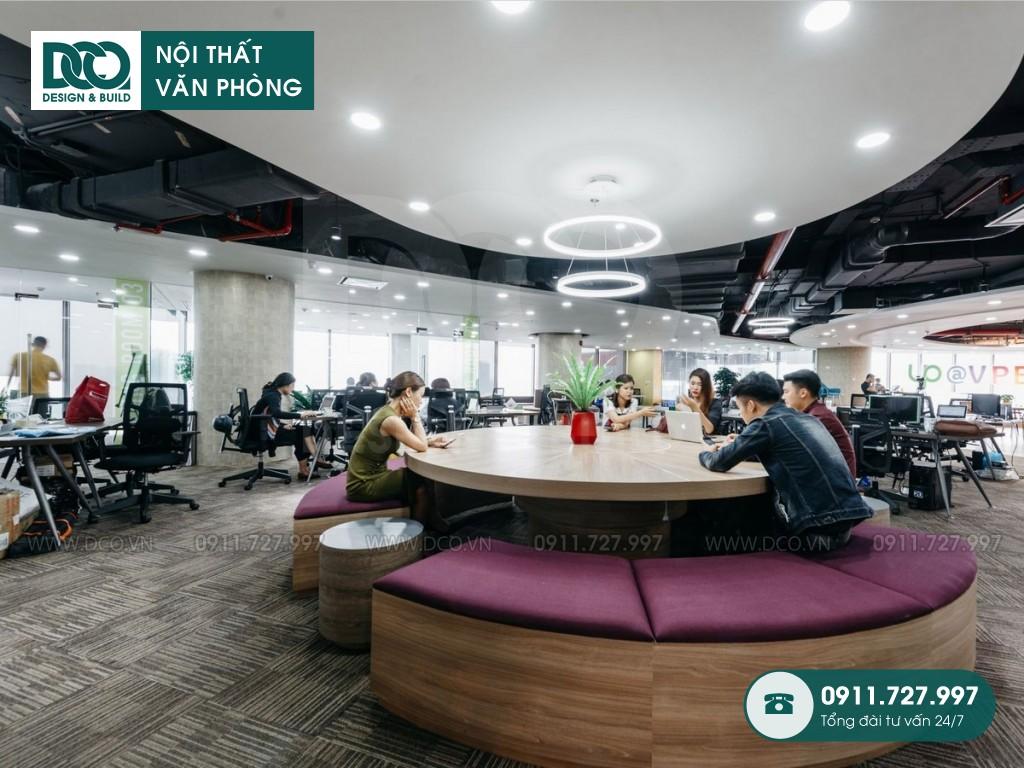 So sánh thi công nội thất Coworking Space