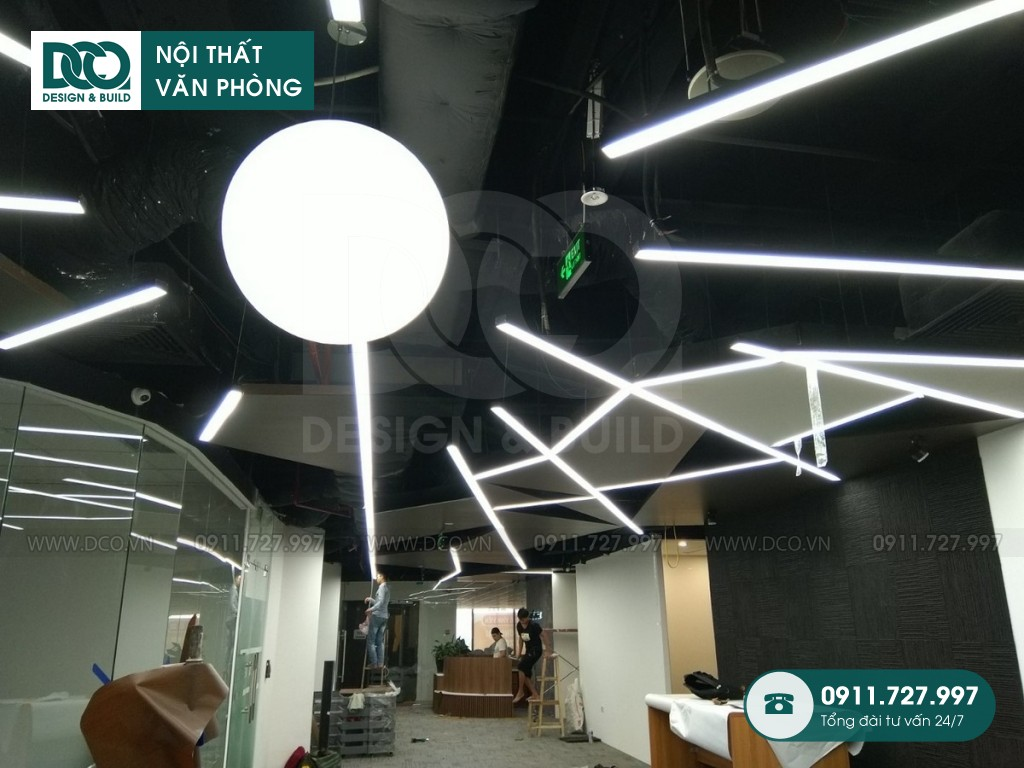 Đơn giá sửa chữa nội thất phòng nhân viên