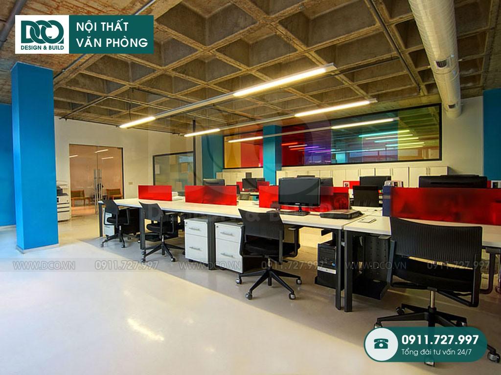 Giá thành cải tạo nội thất không gian làm việc chung
