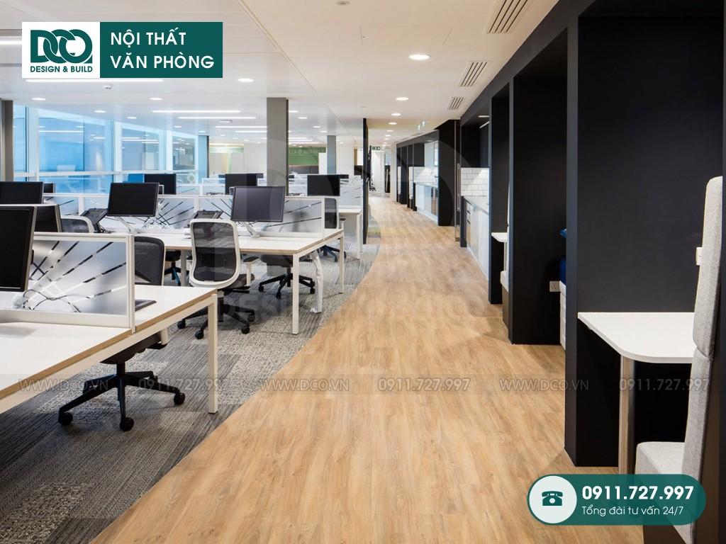 Khái toán cải tạo nội thất không gian làm việc chung