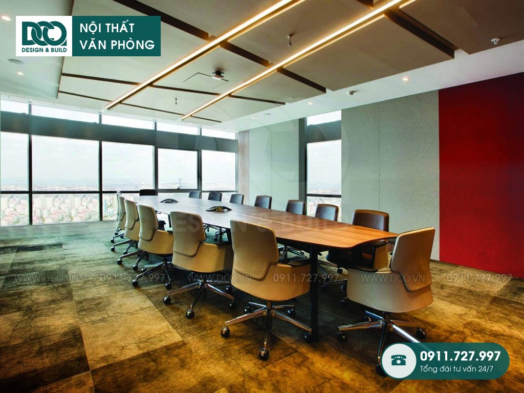 Đơn giá thi công nội thất phòng họp