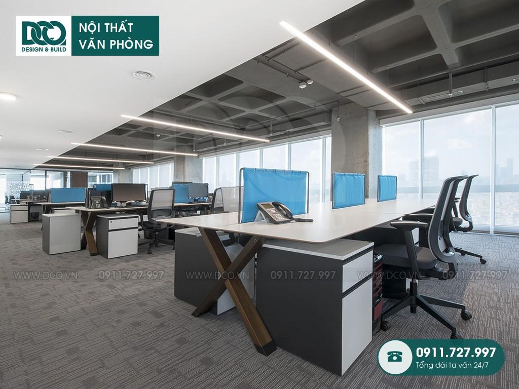 Dự toán thiết kế nội thất không gian làm việc chung
