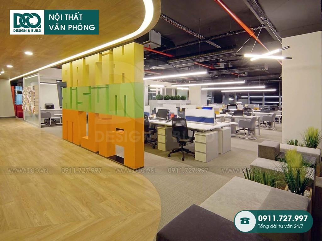 Chi phí sửa chữa nội thất không gian làm việc chung