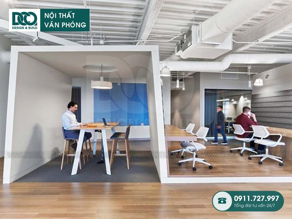 Chi phí cải tạo nội thất không gian sáng tạo