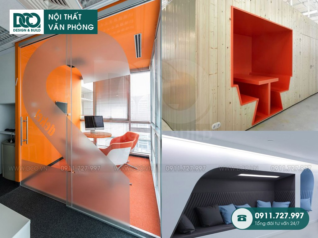 Khái toán thiết kế nội thất không gian sáng tạo