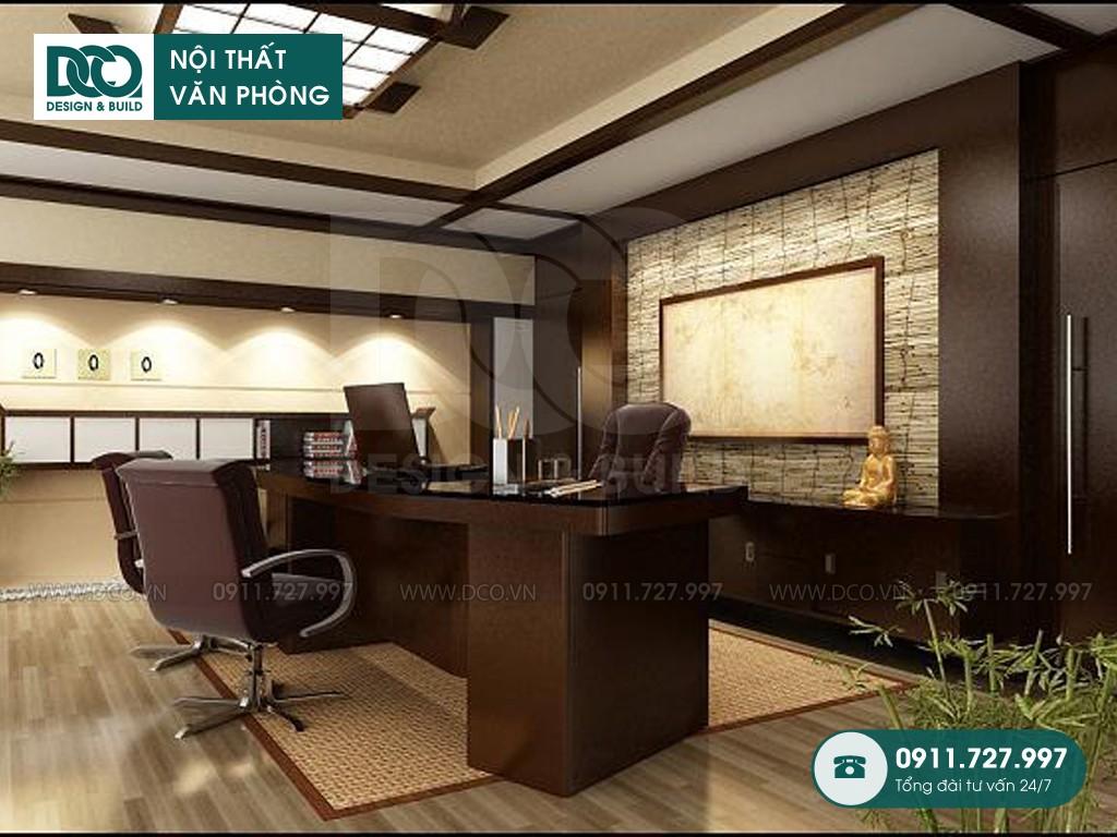 Báo giá thi công nội thất phòng giám đốc