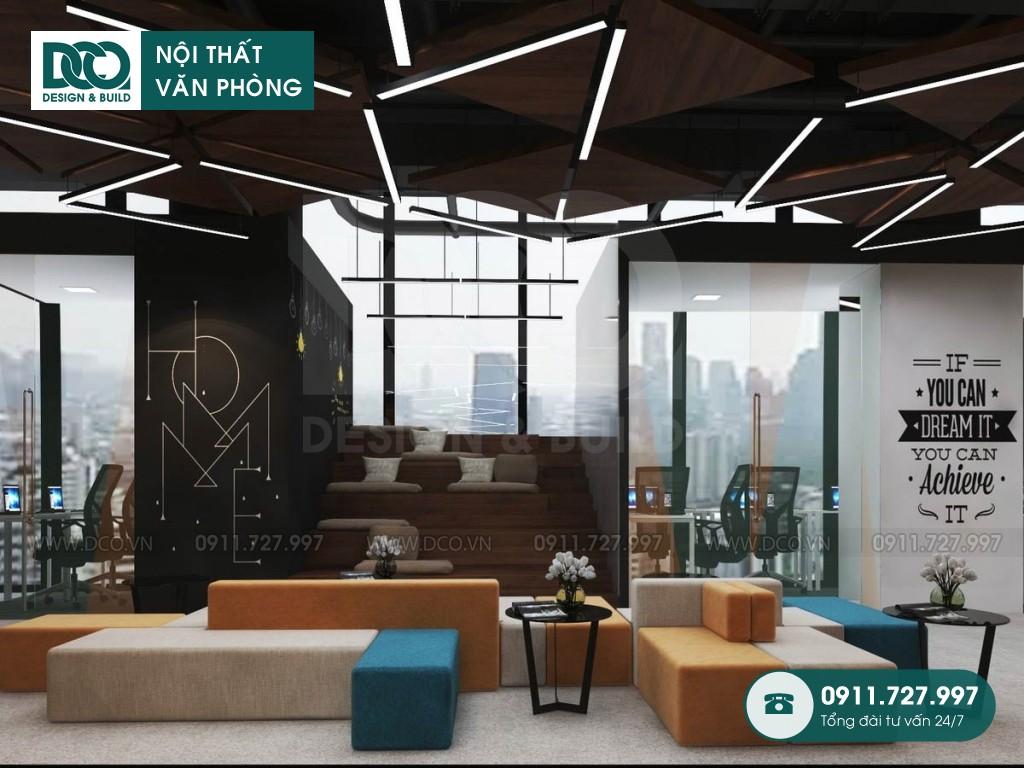 Thiết kế nội thất văn phòng tập đoàn lớn tại Hà Nội