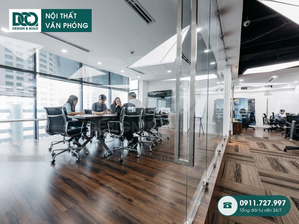 bảng giá thiết kế văn phòng tập đoàn lớn tại Hà Nội.