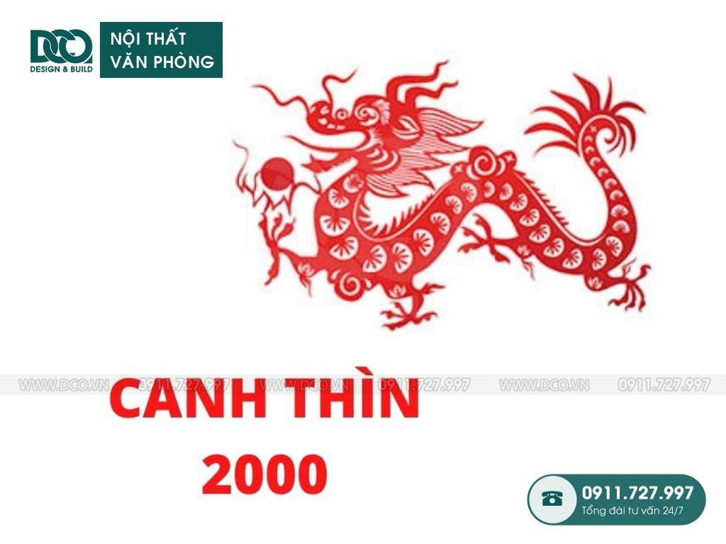 Hướng bàn làm việc tuổi Canh Thìn 2000