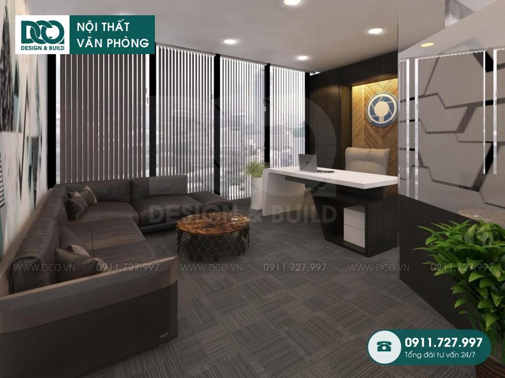 Mẫu nội thất văn phòng tòa nhà Dolphin Plaza