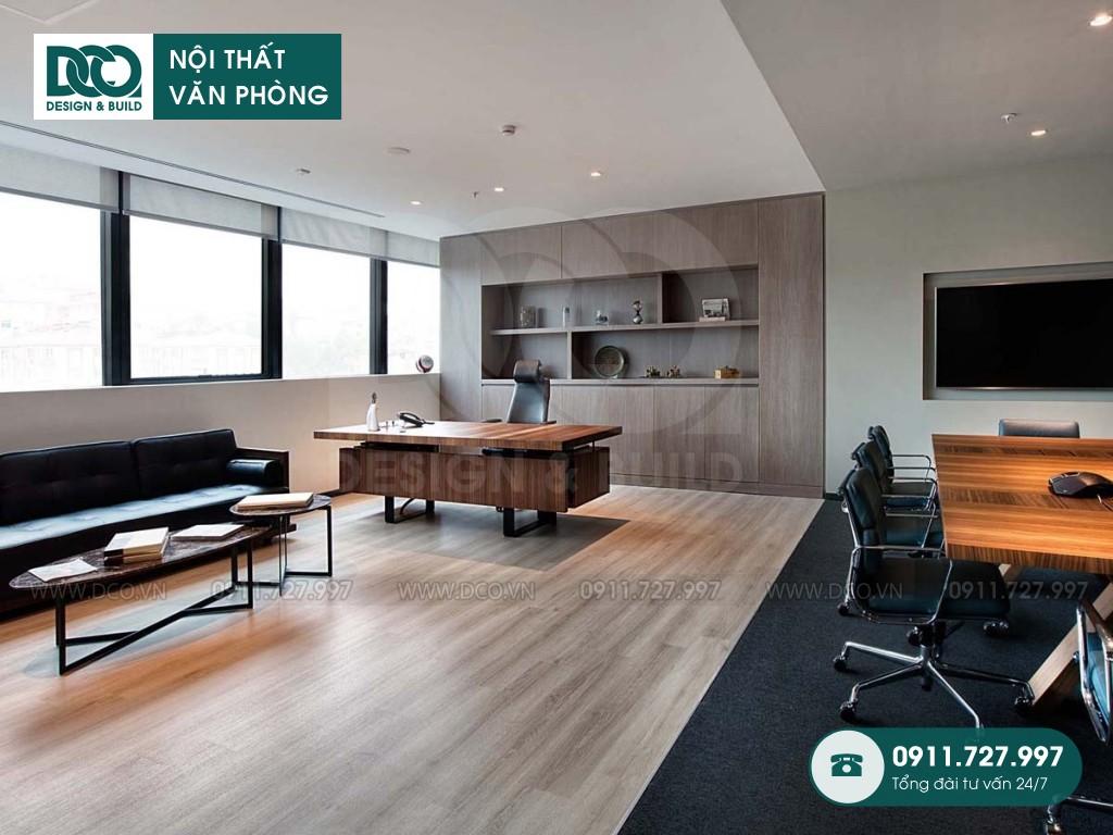 Chi phí thiết kế nội thất phòng giám đốc