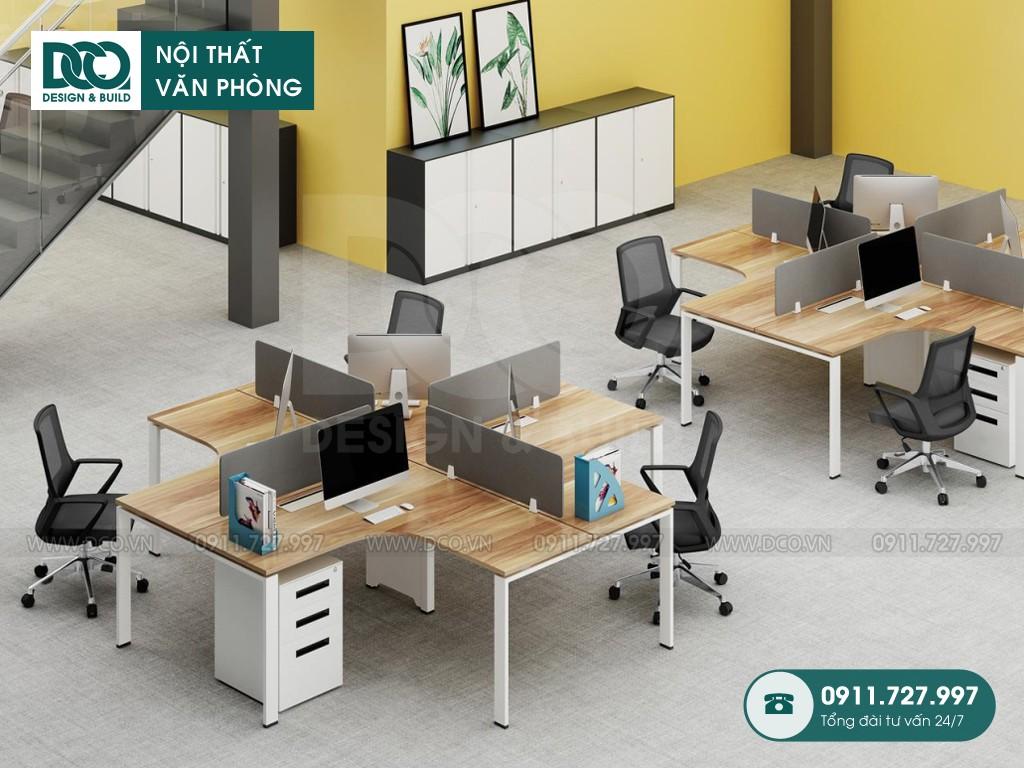 Kích thước bàn làm việc chuẩn cho văn phòng