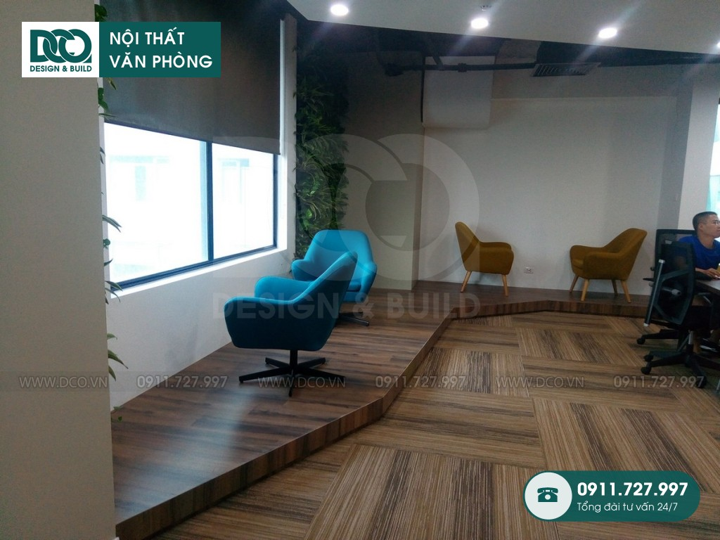 Dự án thiết kế văn phòng Coworking 519 Kim Mã