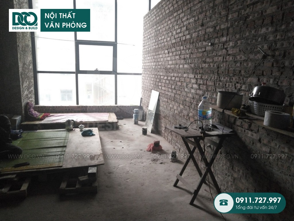 Thi công nội thất Coworking Space Golden West