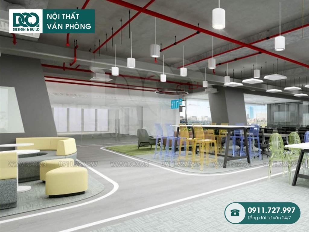 Thi công nội thất văn phòng 36 Phạm Văn Đồng