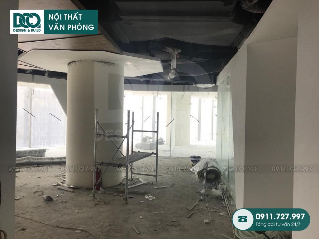 Cải tạo nội thất văn phòng VP Bank tầng 22