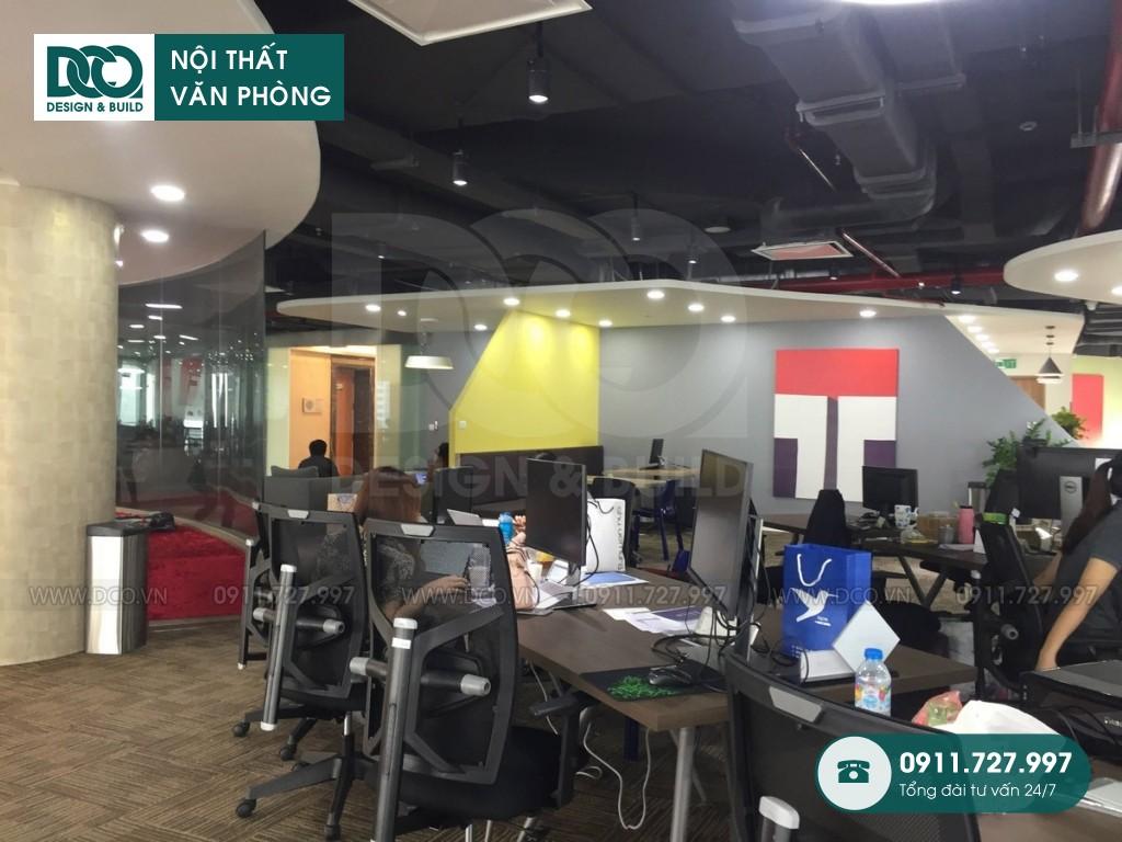 Cải tạo nội thất văn phòng VP Bank tầng 21