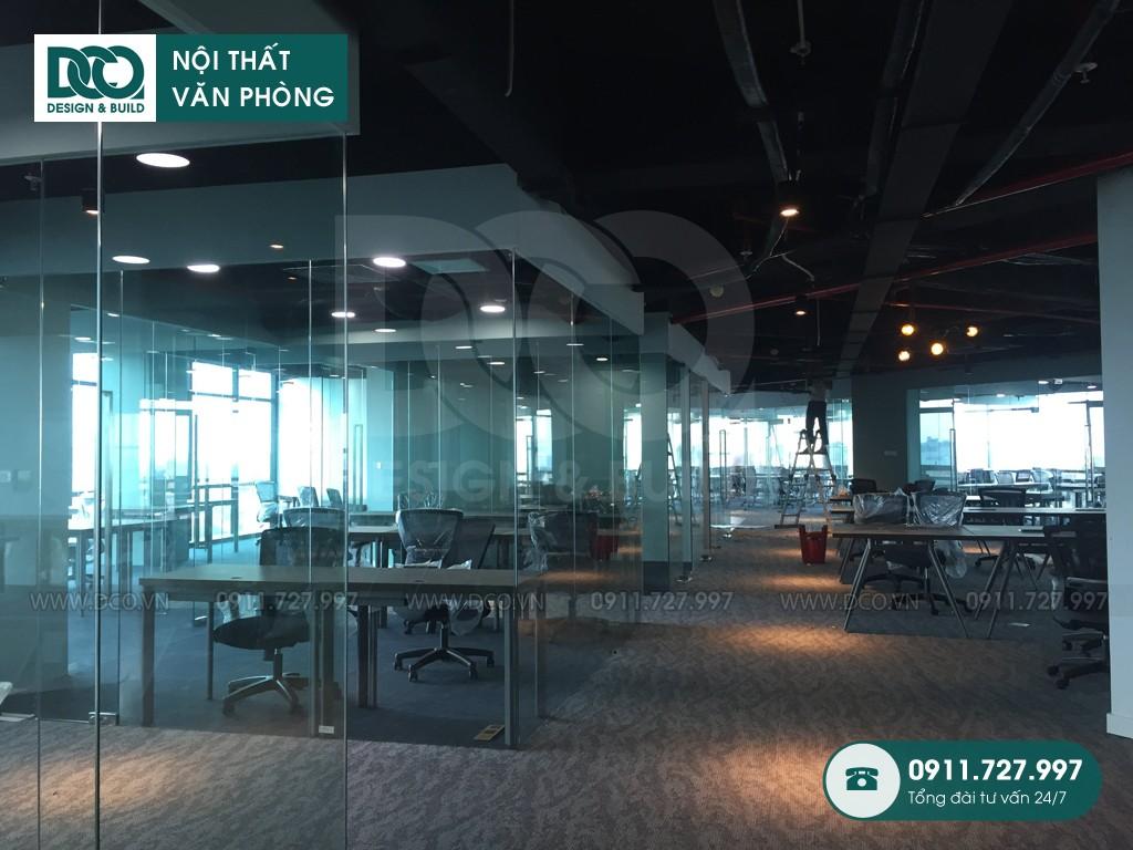 Cải tạo nội thất văn phòng khu 2 GNG Media