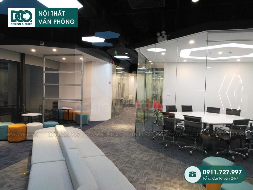 Cải tạo nội thất văn phòng Golden Net