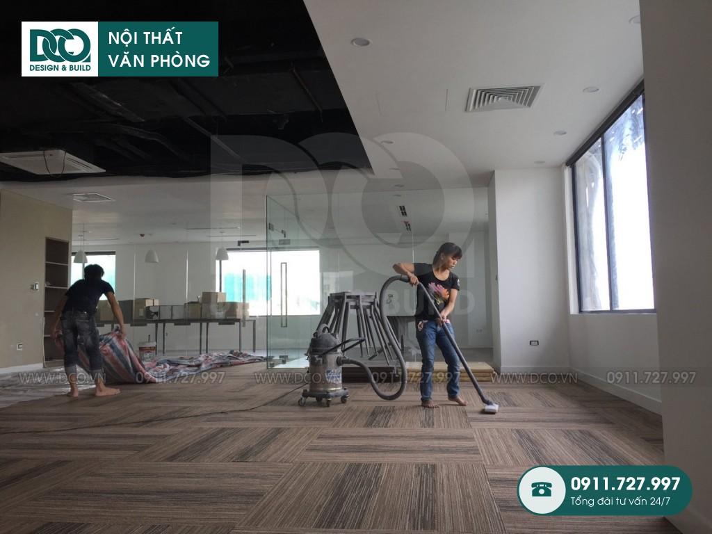 Cải tạo nội thất văn phòng tại số 10 Đặng Dung