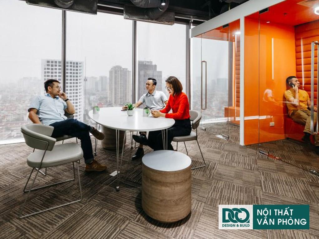 Cải tạo nội thất Coworking Space tầng 22 VP Bank
