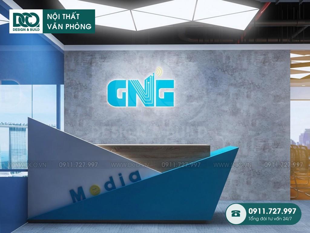 Cải tạo nội thất Coworking Space khu 2 GNG Media