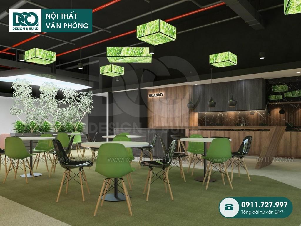 Dự án thiết kế văn phòng 250 chỗ tòa nhà Việt Đức Complex